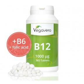 ВИТАМИН B12 - метилкобаламин + B9 и витамин B6 ОЧЕНЬ Большое количество в банке. 1 упаковки ХВАТАЕТ НА 1 ГОД ПРИЁМА! Продукт из ГЕРМАНИИ.