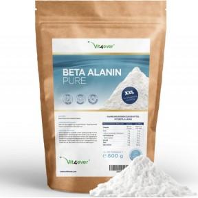 Бета-аланин Pure-600 г чистый порошок без добавок-лабораторно испытан - + 99% чистота из Германии