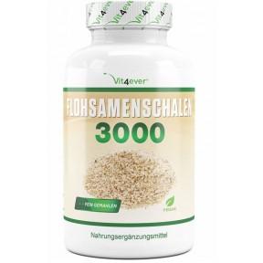Шелуха семян индийского подорожника-3000 мг на порцию дня-360 капсул