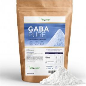 GABA-100% гамма-аминомасляная кислота чистый порошок-300 г из Германии