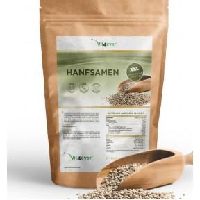 Семена конопли очищенные - 1100 г (1,1 кг) - натуральный источник белка из Германии