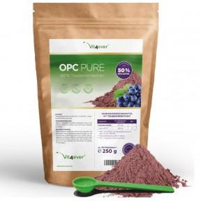 OPC экстракт виноградных косточек порошок-250 г-чистый OPC из французского винограда