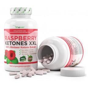 Raspberry Ketones XXL - 1000 mg - 250 капсул из Германии