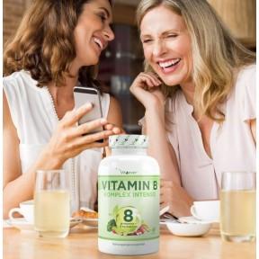 Комплекс витаминов B - большое количество в банке - 180 капсул! Комплекс содержит ВСЕ 8 витаминов +3 Ко-фактора! Продукт из ГЕРМАНИИ   ХВАТАЕТ НА 6-8 МЕСЯЦЕВ ПРИЁМА!