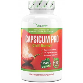 Capsicum Pro-Chili Burner с экстрактом кайенского перца -180 капсул